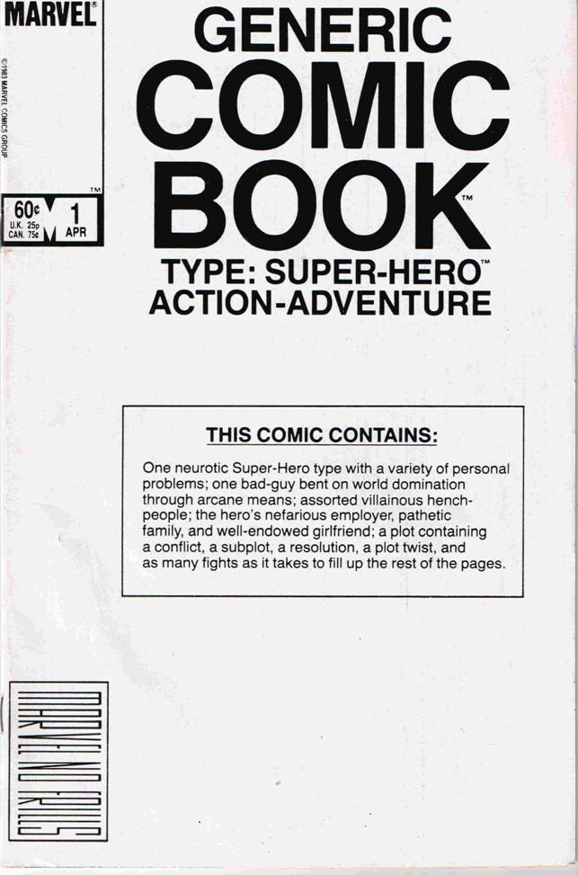 generic comic book