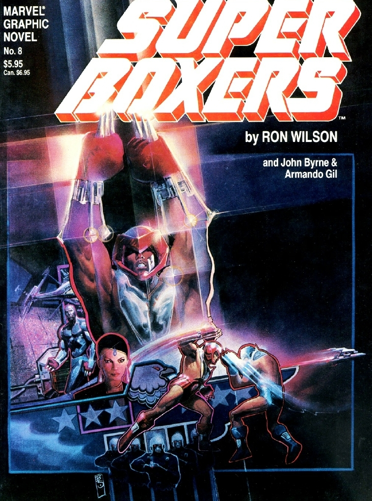 Super Boxers cover
