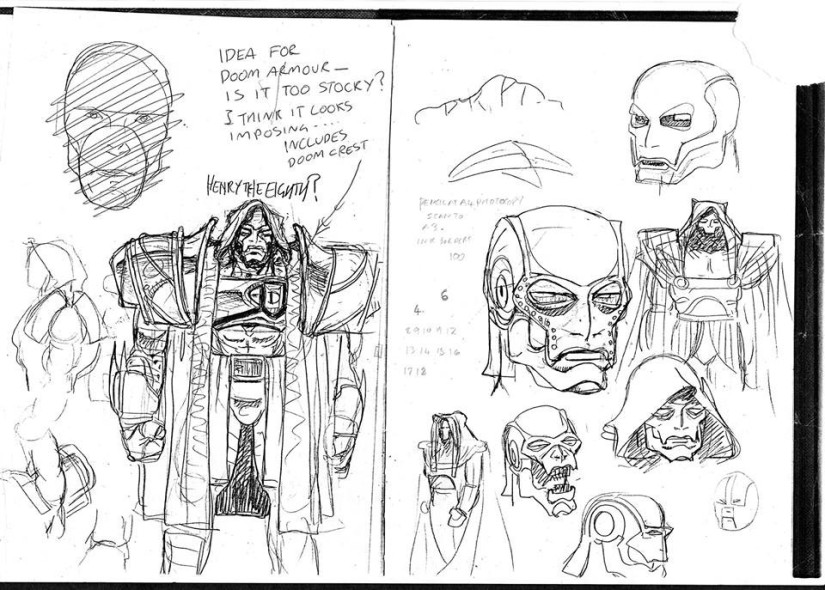2000AD sketches