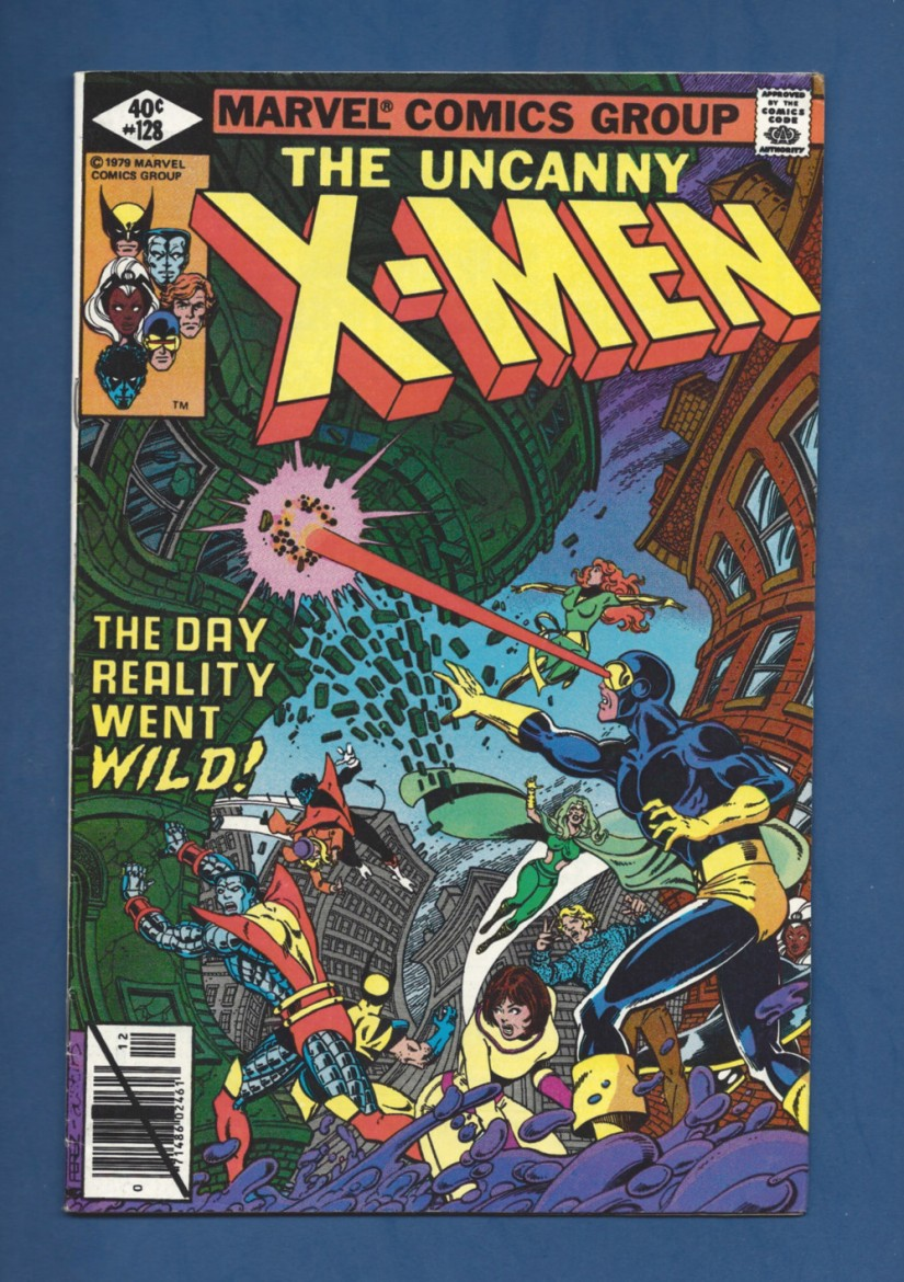 comics oddities Scan-181217-0002uncanny-x-men-128-vg