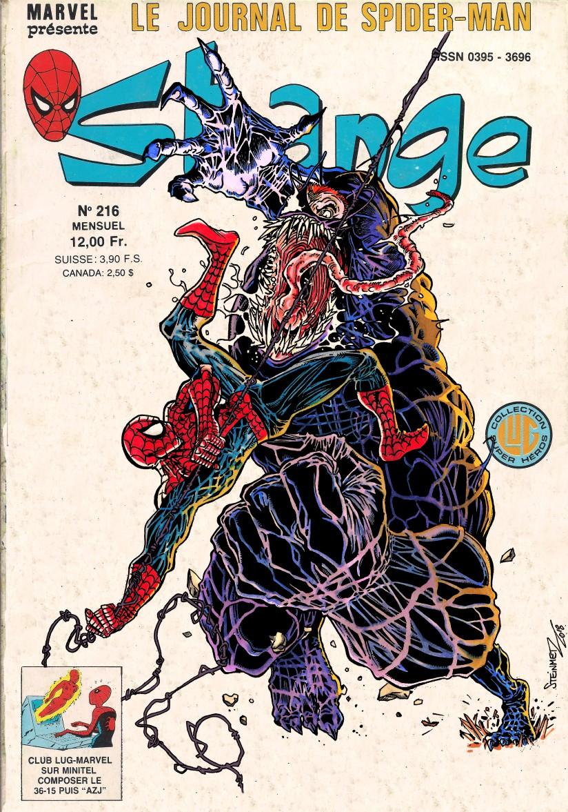 venom vs spidey strange test