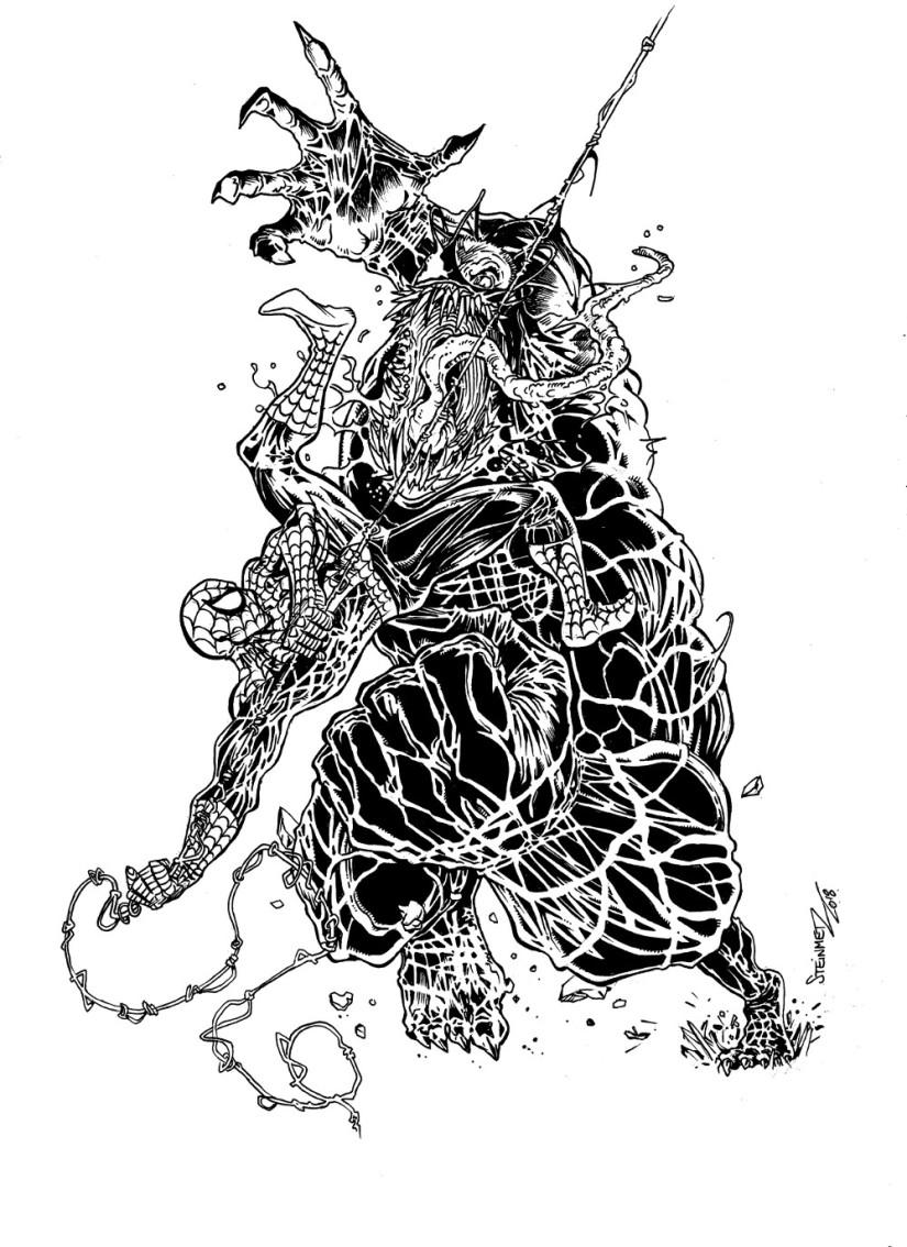 we are venom n&bcomics oddities