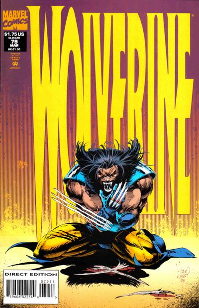 Wolverine #79 - Cover