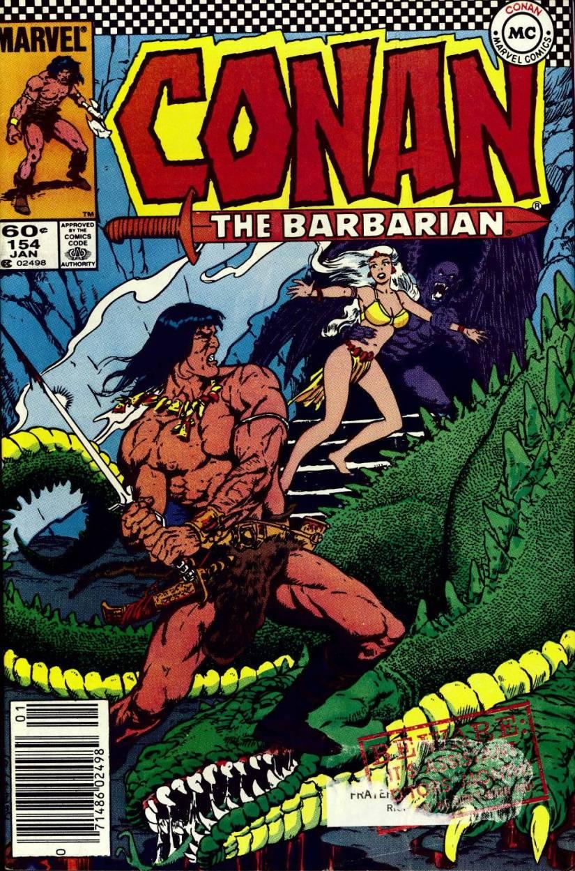 Conan 154 cover