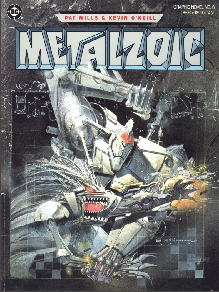 Metalzoic cover