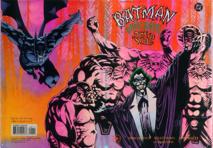 Dark Joker Wild Back Cover