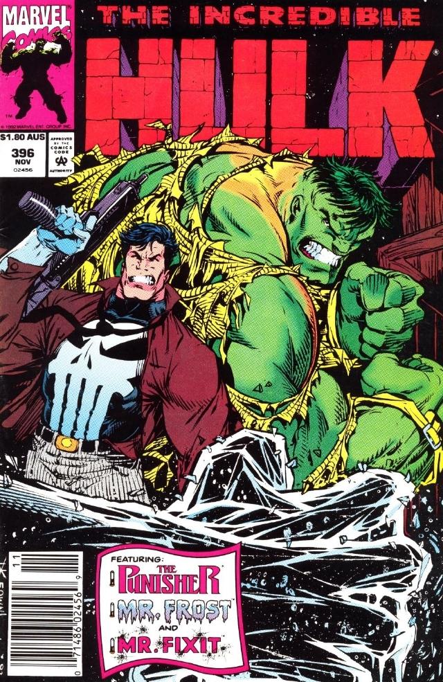 Hulk 396 cover