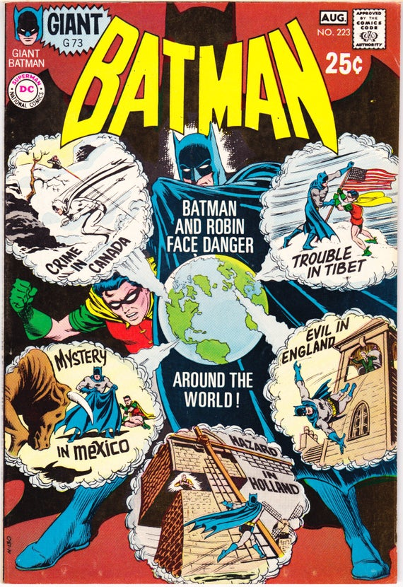 batman around the world