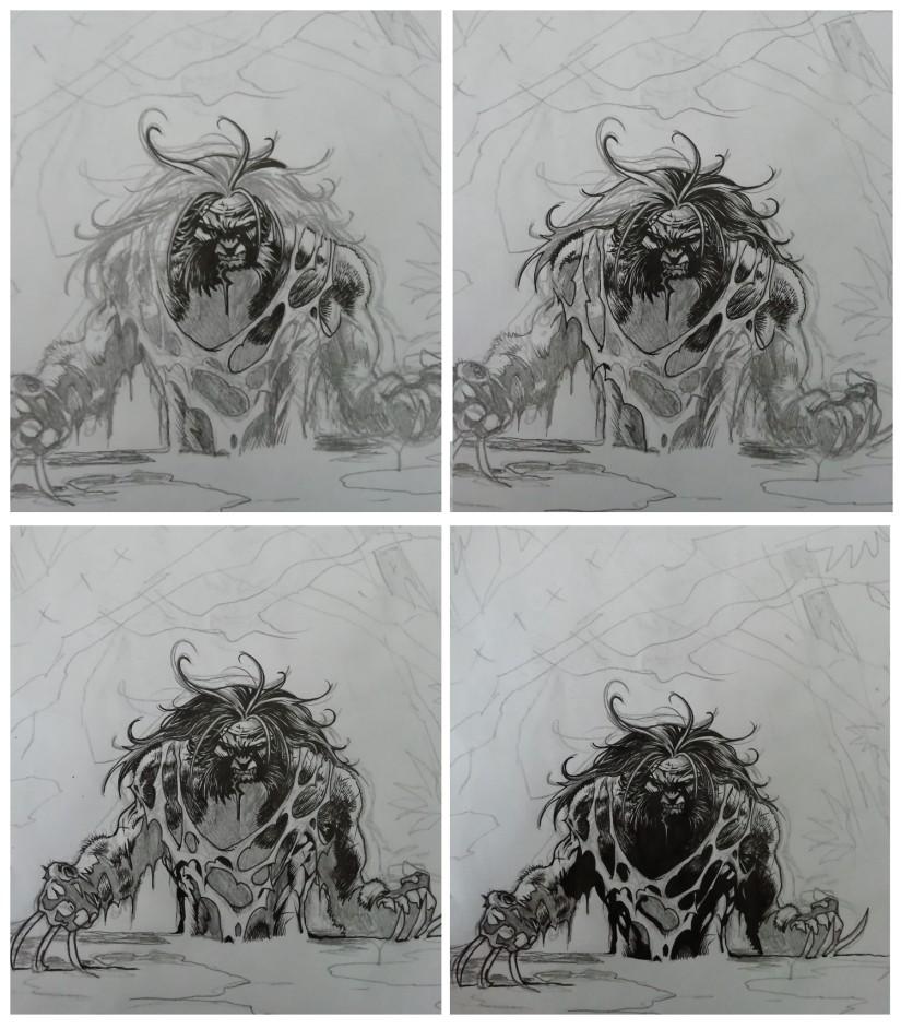 rough wolverine predator 3 comics oddities