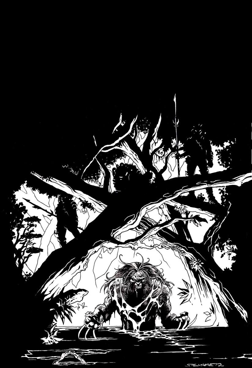 serval predator 3 comics oddities